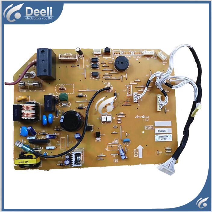 95% new and tested for air conditioner motherboard PC board control board A746369 on sale free shipping 100% tested for washing machine pc board mg70 1006s mg52 1007s 3013007a0008 motherboard on sale
