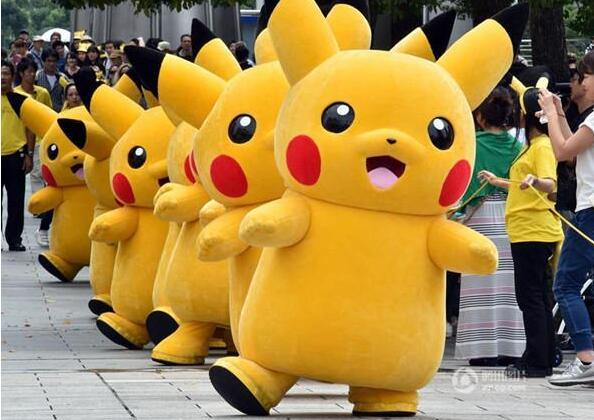 Pikachu Pokemon Mascot Costume Fancy Dress Outfit Gratis - Carnavalskostuums