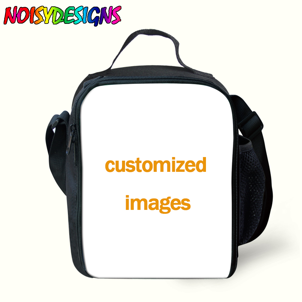 Bolsa de Almoço Caixa para Crianças Impressão na Moda Bolsas de Almoço para Crianças Personalizado Exclusivo Isolado Comida Térmica Piquenique Mensageiro
