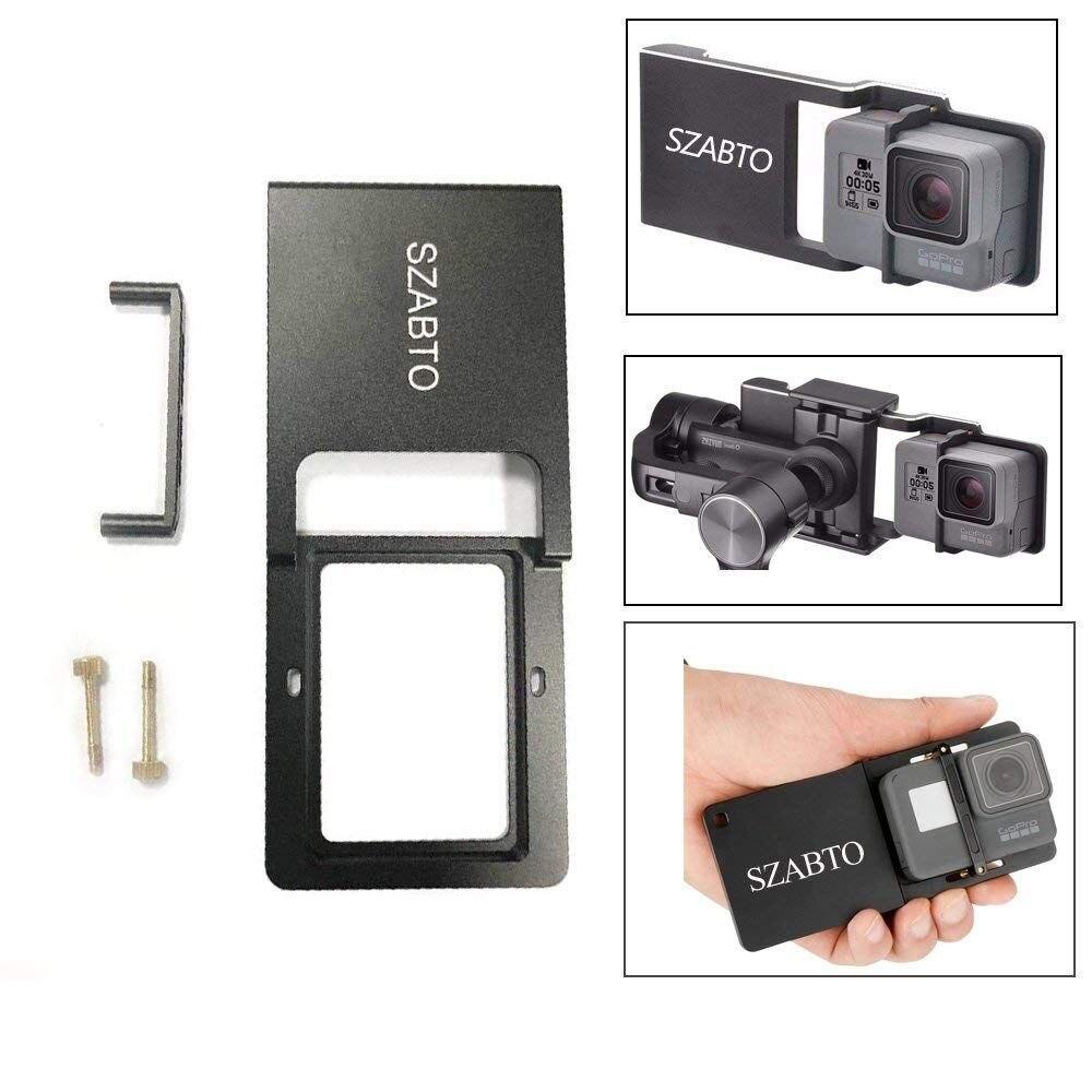 Zhiyun stabilisateur de cardan portable lisse 4 Vlog 3 axes pour iPhone Xs Max Xr X 8 Plus 7 Huawei & Samsung S9, 8 & Gopro caméra d'action - 2