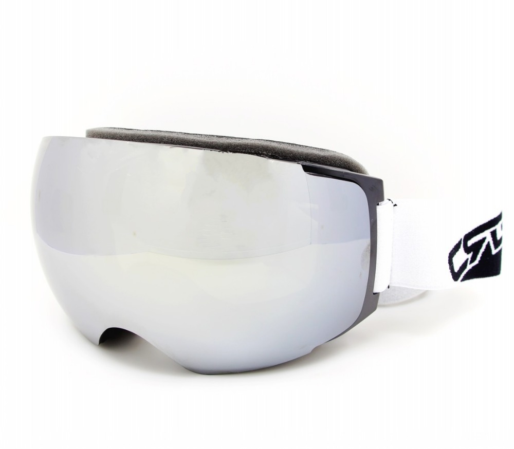 Ski Goggles Snowboard Snowmobile Goggles with Magnet Fast Lens Changing System 100 UV400 Protection Anti fog