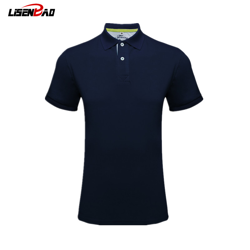 LiSENBAO New   Polo   Shirt Men Short Sleeve Luxury   Polo   shirts Men Slim Fit Business Casual Fashion Summer mens   polo   shirt brands