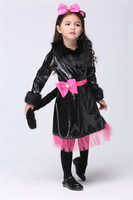 Kids Cat Girl Costume Party Cosplay Performance Clothes Halloween Christmas Costumes