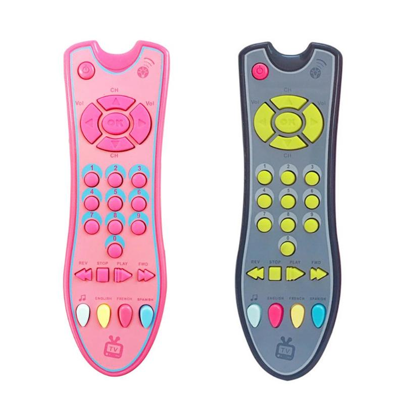 Music Simulation Mobile Phone Baby TV Remote Control Early Educational Toys Electric Numbers Remote Learning Machine Toy