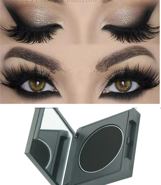 Matte Black Eyeshadow Easy To Wear Makeup Eye Shadow Cosplay Stage