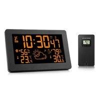 New Led Digital Weather Station Alarm Clocks Desktop Digital Bedside Reloj Mesa Electronic Wekker Despertador Digital De Cabecea