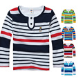 High Quality 2-14 Years Children Kids Spring Autumn Cotton Long Sleeve T-shirt  Boys Clothing O-neck T Shirts