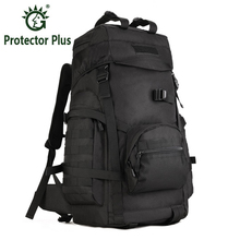 Military Backpack Waterproof Nylon Backpacks Bag Multi function Camouflage Pack 60L Rucksack Tactics Bag