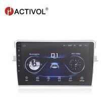 """HACTIVOL 9 """"2 DIN android 8.1 radio samochodowe dla Toyota Verso E'Z 2010-2015 SAMOCHODOWY ODTWARZACZ DVD odtwarzacz multimedialny radiowa nawigacja GPS BT WIFI"""