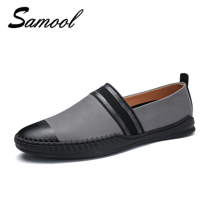 spring Men Casual Shoes Leather Driving Moccasins Slip On Shoes Men Comfortable Breathable chaussure homme shoes men H3 klywoo new white fasion shoes men casual shoes spring men driving shoes leather breathable comfortable lace up zapatos hombre