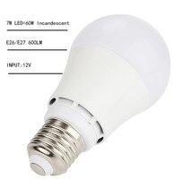 50 p/carton LED Lâmpadas E27/E26 Lâmpadas Luzes 7 W SMD2835 Lâmpadas LED Quente Pure White Super Bright Light Bulb Energy-saving Light