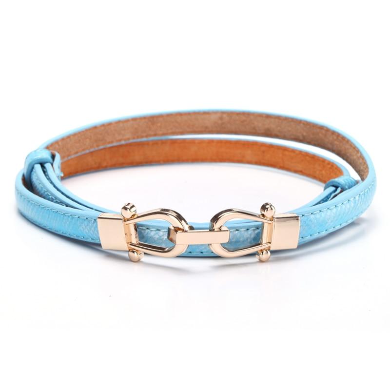 himunu newest serpentine thin belts for fashion
