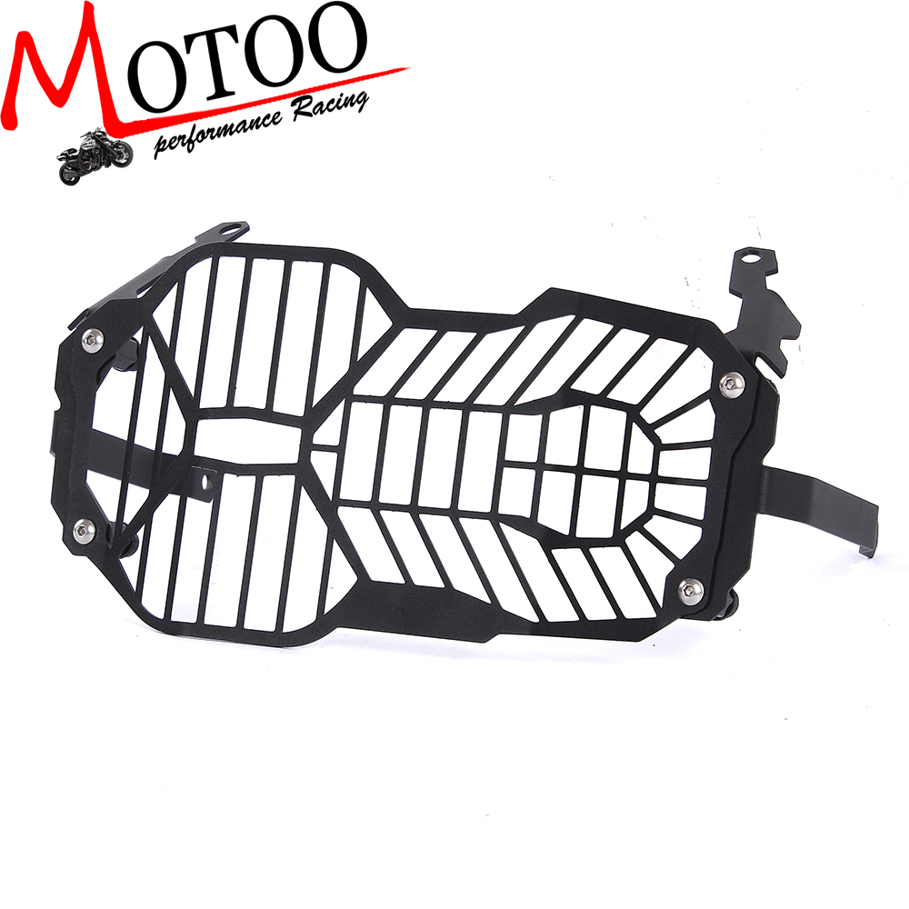 Motoo - Motorcycle Headlight Grille Guard Cover Protector For BMW R1200 GS R1200GS ADV 2012-2016 motorcycle radiator grill grille guard screen cover protector tank water black for bmw f800r 2009 2010 2011 2012 2013 2014
