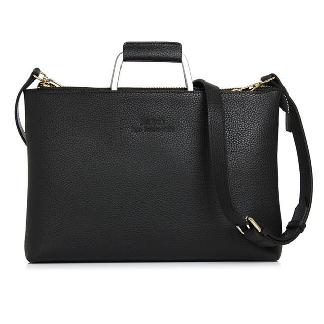 Jacodel Print Women Genuine Leather Handbag Shoulder Bag for MacBook iPad Xiaomi Asus Laptop Messenger bag for Women briefcase
