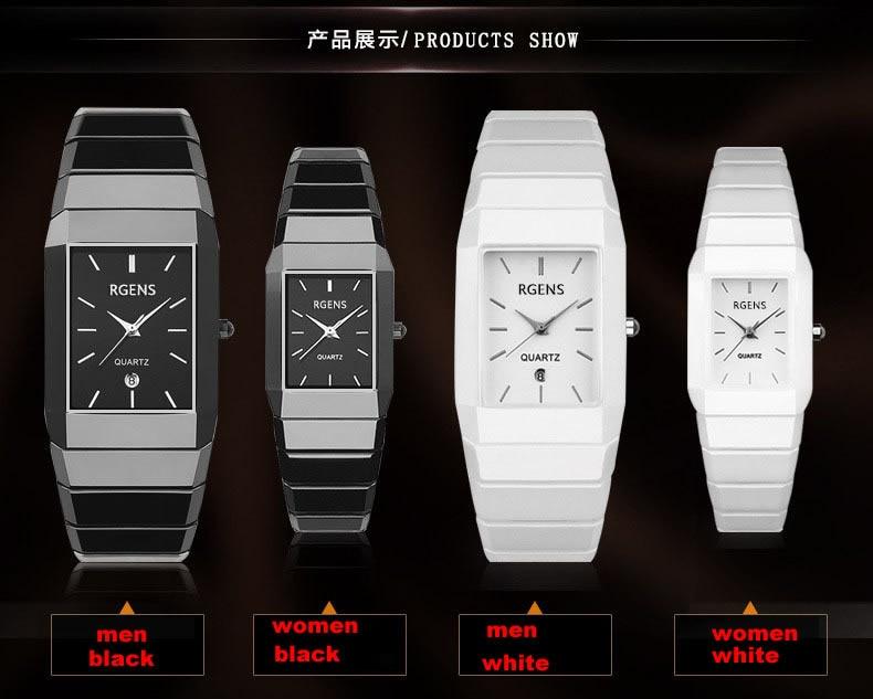 Tabela do presente do relógio de jóias de moda de alta qualidade 2016 novo 5 cor mulheres Relógios Jóia geometria gem cut superfície preta de pulso - 5