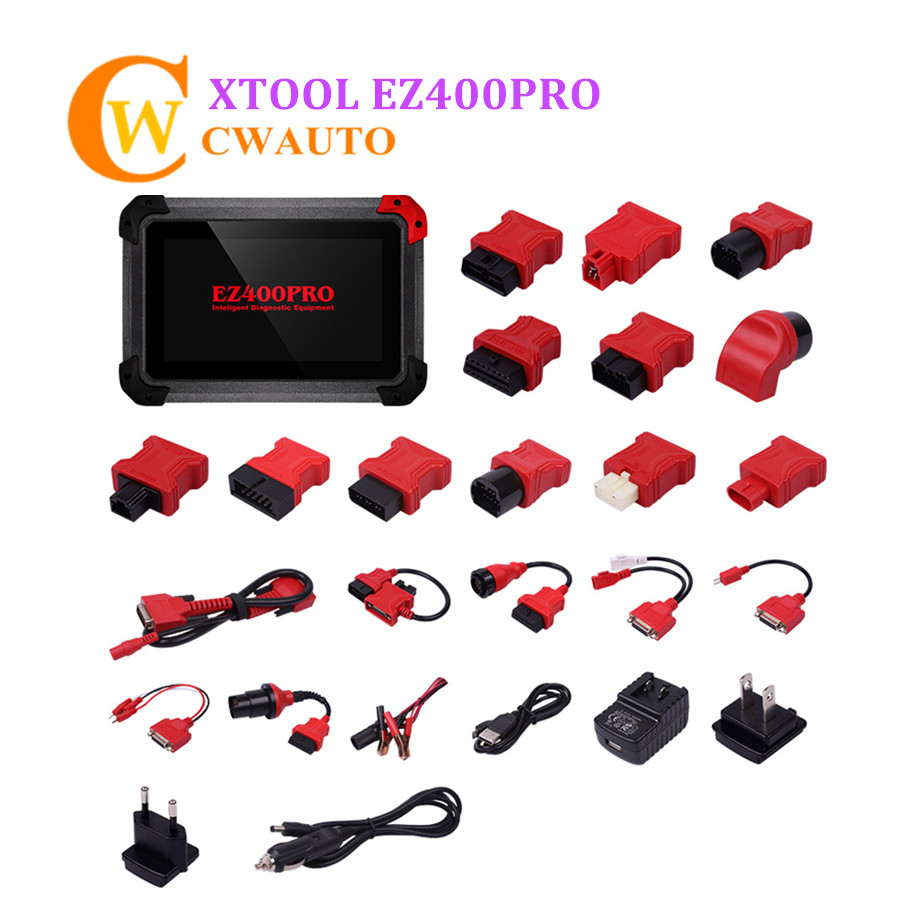 Xtool EZ400PRO EZ400 Pro Tablet Diagnosis Scanner Support for most US Asian and European Vehicle Makes Online Upgrade