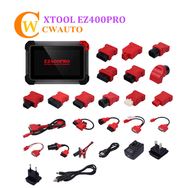 Flash Promo Xtool EZ400PRO EZ400 Pro Tablet Diagnosis Scanner Support for most US Asian and European Vehicle Makes Online Upgrade