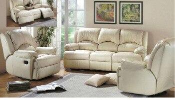 Гостиная диван набор угловой диван кресло Электрический Диван Натуральная кожа секционные диваны muebles de sala moveis para casa