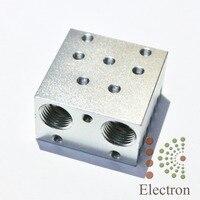 Single J Head Mixed Color Heat Sink Nozzle Extruder For E3D V6 3D Printer