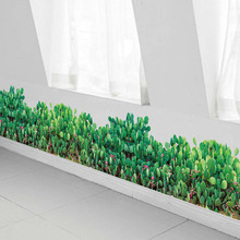 Removable Green Plants Wall Stickers