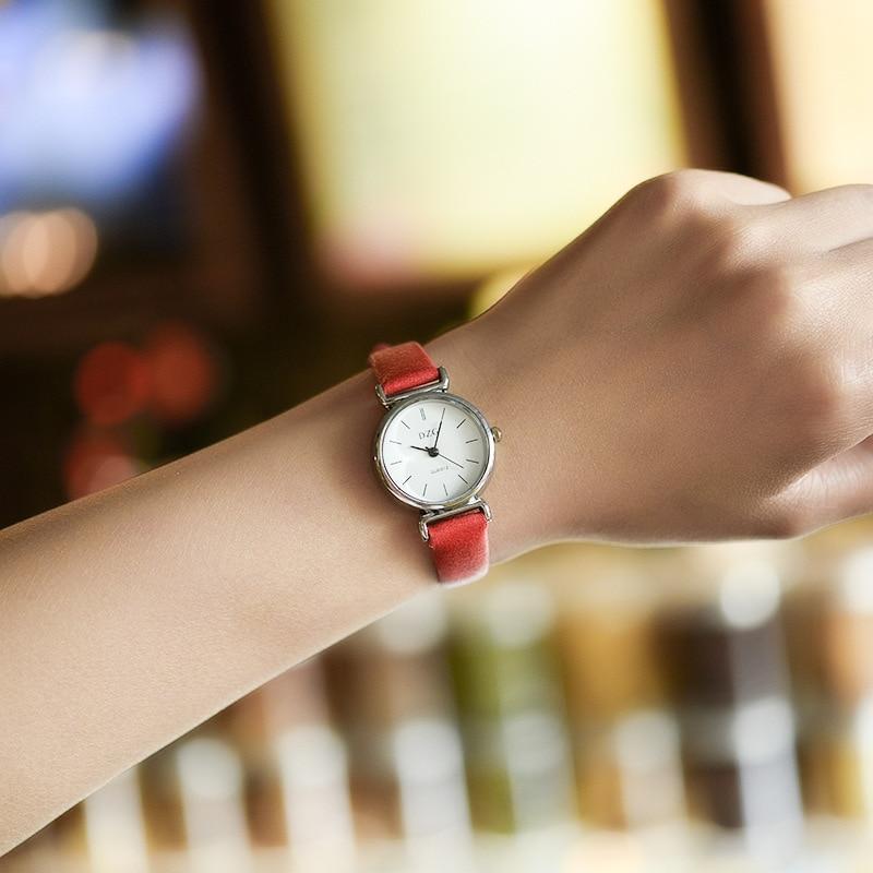 где купить Girls, Xiaoqing, new style Joker watches, girl students, simple trend ulzzang, leisure retro wrist watches. по лучшей цене