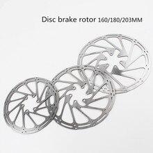 Велосипедный дисковый тормоз ротор 160 180 203 мм mtb диск центр линии диски роторы с высоким охлаждением полые колодки