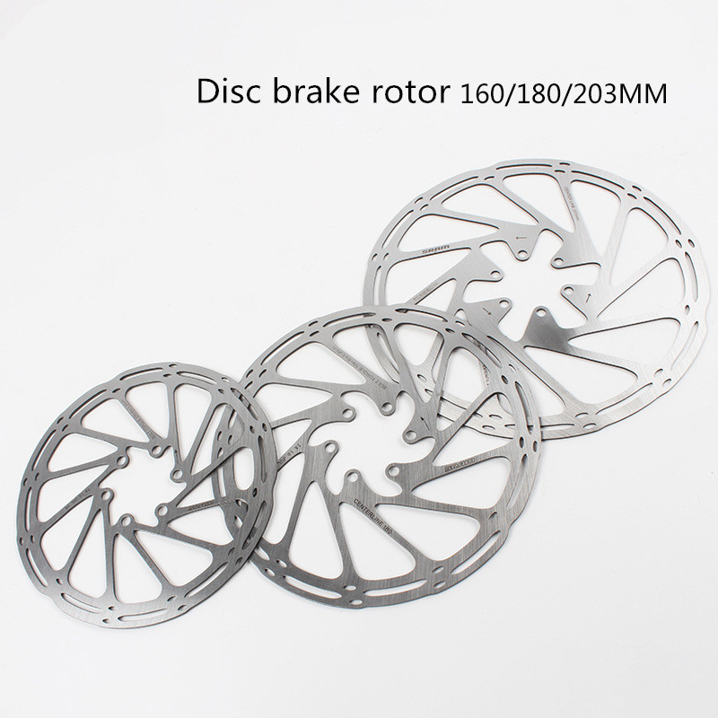 Bicycle Disc Brake Rotor 160 180 203mm mtb Disc Center Line Discs Rotors High Cooling Hollow pads