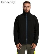 Facecozy Men Outdoor Fleece Winter Jackets Male Autumn Warm