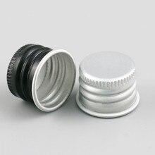 Commercio allingrosso 100x18mm Tappo della Bottiglia, 18mm tappo In Alluminio, Tappo di plastica Per 5ml \ ml \ ml \ ml \ ml \ 100 ml Bottiglia di Olio Essenziale
