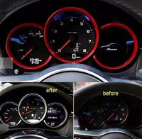 For Porsche Macan 2014 2015 Cayenne 2015 Panamera 2015 ABS Dashboard Instrument Panel Decorative Cover Trim