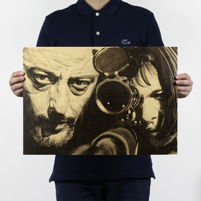 51x36cm the killer is not too cold movies kraft paper - How cold is too cold to paint ...