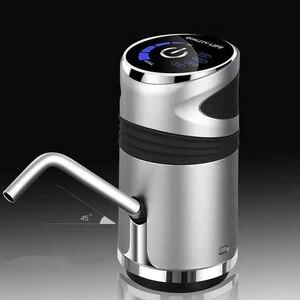 Image 2 - التلقائي مضخة مياه كهربائية زر موزع جالون زجاجة الشرب التبديل لجهاز ضخ المياه