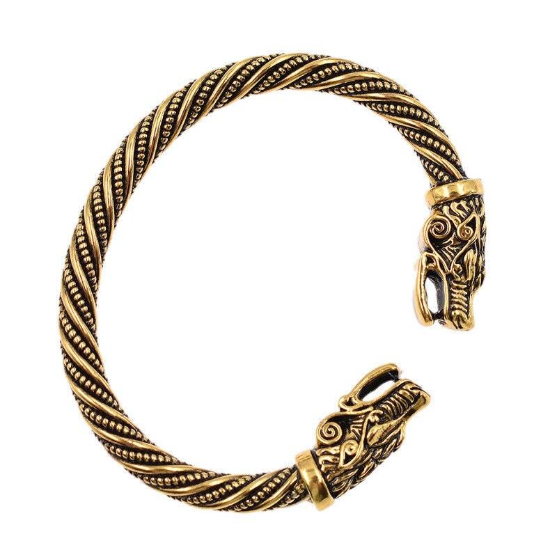 Bracelet tête de loup  2