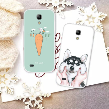 Fashion Cute Cartoon Animals Phone Case For Samsung Galaxy S4 mini Painted Phone Case For Samsung Soft Silicone Full Back Cover image