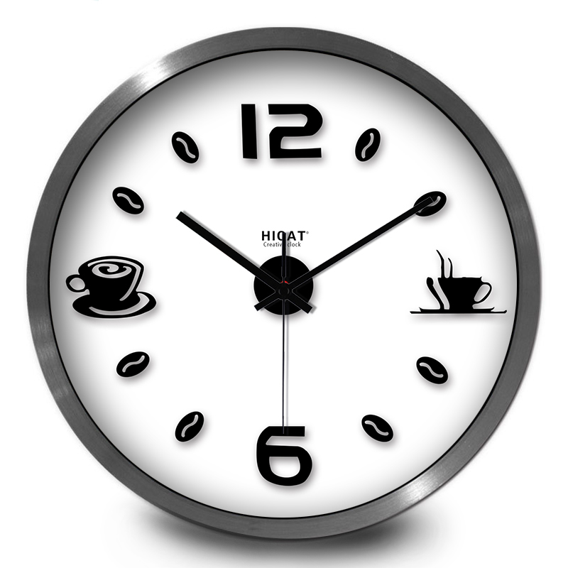 wall clock for office. perfect clock simple design office coffee beans wall clock art style afternoon tea  clockin wall clocks from home u0026 garden on aliexpresscom  alibaba group in clock for office