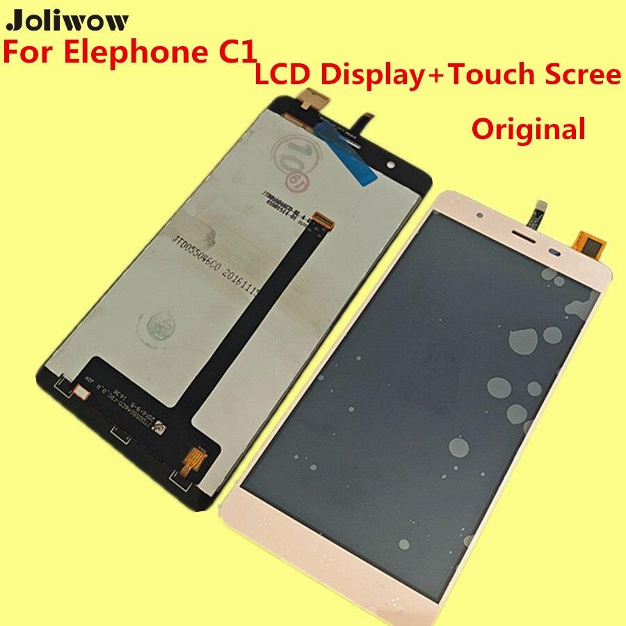 Original Para Elephone c1 LCD Reemplazo Digitalizador Asamblea Display + Touch S