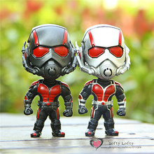 Free shipping Mar Hero Q Action Figures PVC toys Ant cake car home office desk decoration man party supply kids christmas gifts