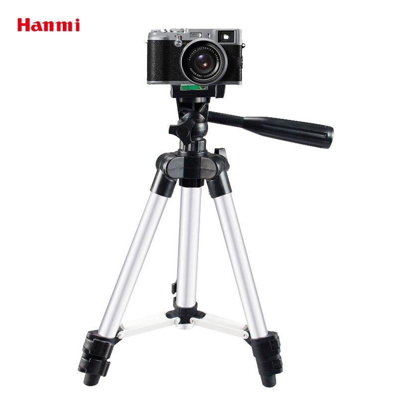 Hanmi Tripé Leve Câmera Acessórios Professional Mini Tripé de Câmera Flexível Tripé Para Filmadora Projetor Luz do Flash