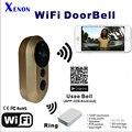 Xenon interfone campainhas campainha sem fio doorbells casa inteligente com câmera de segurança motion detection ios & android app de vídeo hd