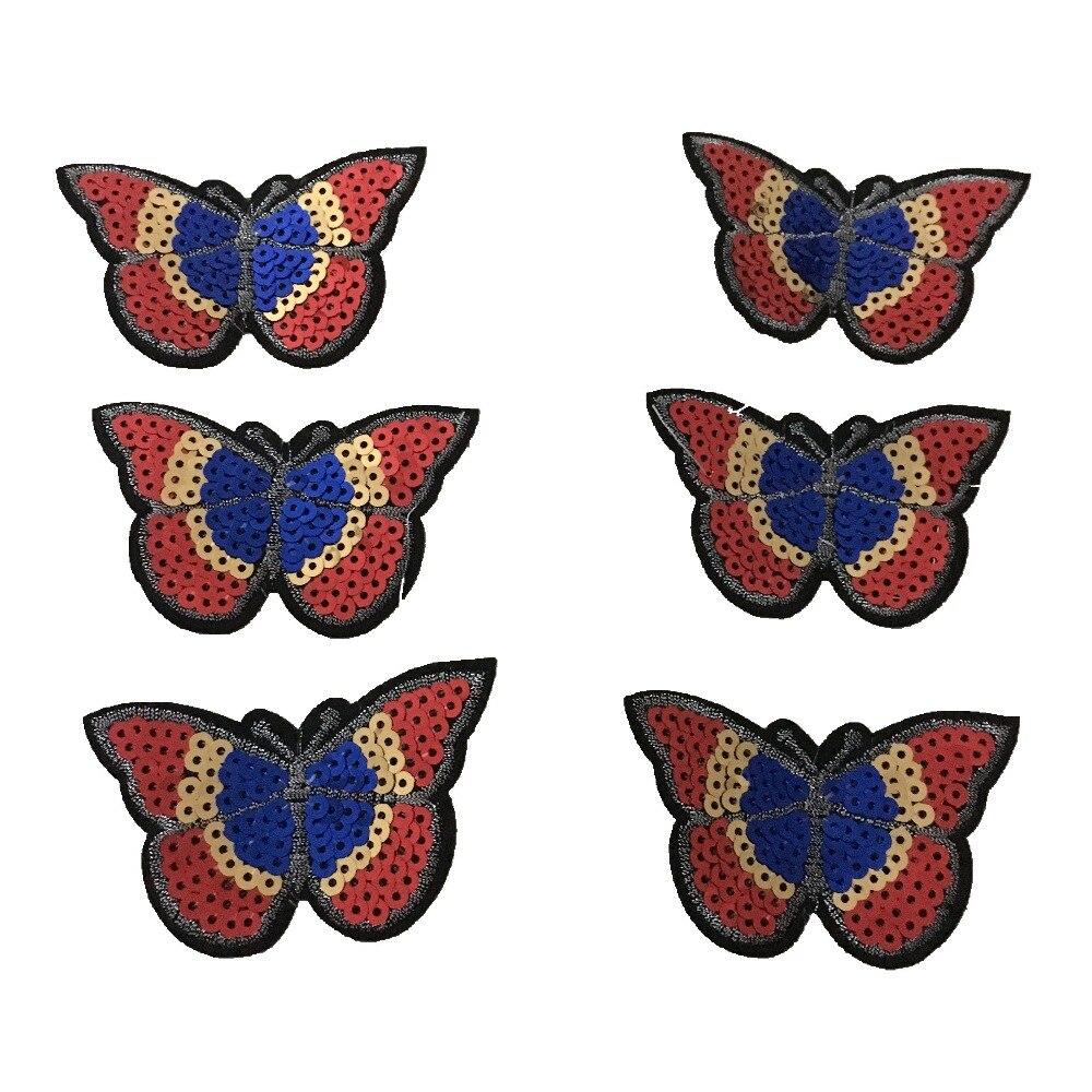 Sequins Πεταλούδα πεταλούδα για IKids Ρούχα - Τέχνες, βιοτεχνίες και ράψιμο - Φωτογραφία 5