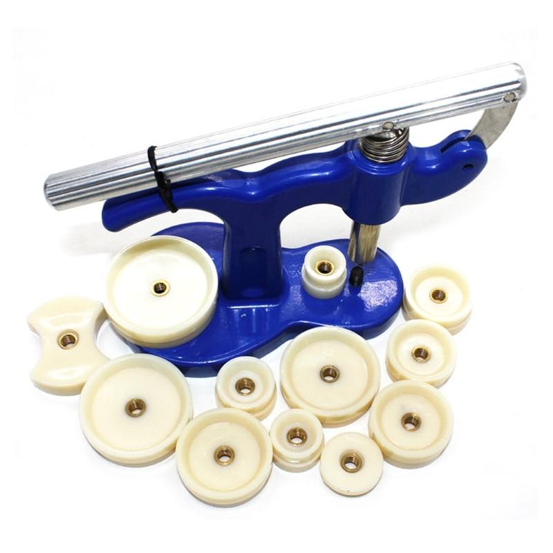 20 Pcs Watch Back Press Fitting Dies Repair Kit Round Rectangular20 Pcs Watch Back Press Fitting Dies Repair Kit Round Rectangular