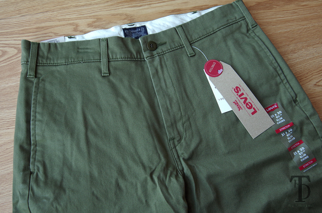 Levis 511 Chino men's slim fit small straight casual pants