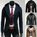 2017 New Brand Korean Slim Fit Suit Jacket Mens Hoodies Clothing Outerwear Autumn Style Fashion Blazer Men Casual Suits Hot Sale