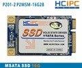 HCiPC P201-21 P2MSM-16G2B 16G Mini PCIE MSATA SSD, Disco de Estado Sólido, SSD MSATA, para la Tableta, Mini Caja de la PC, placa base ITX