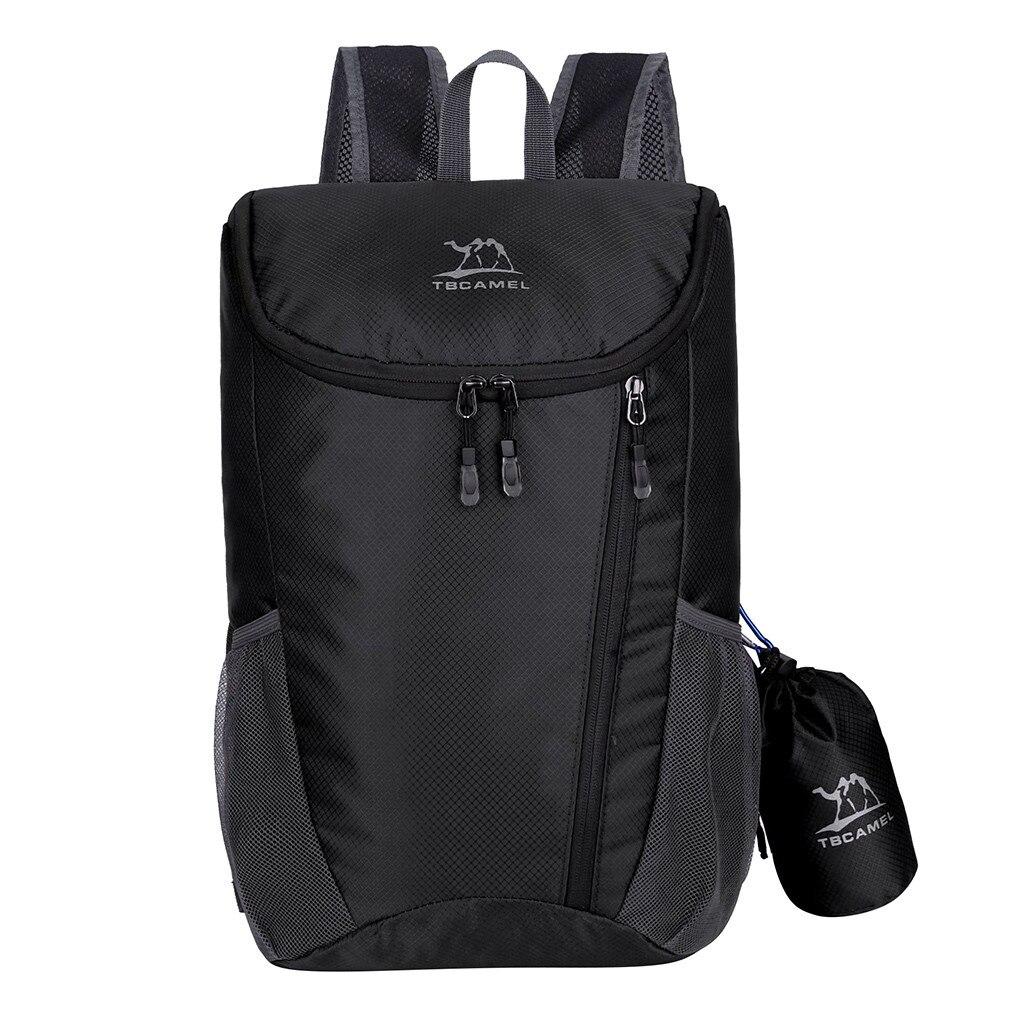 Нейлоновый складной рюкзак легкий водонепроницаемый рюкзак складной мешок Сверхлегкий Открытый пакет для женщин мужчин туристический рюкзак # L10 Рюкзаки      АлиЭкспресс
