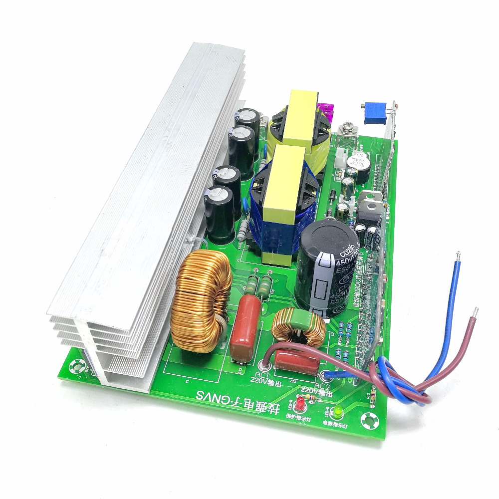 US $45 68 |Aliexpress com : Buy Pure sine wave 12V to 220V inverter circuit  board solar converter board 800W from Reliable Inverters & Converters