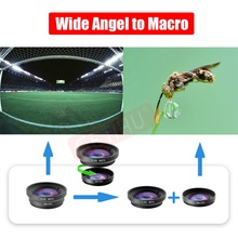Wide Angle Macro Fisheye Lens Camera Mobile Phone Lenses