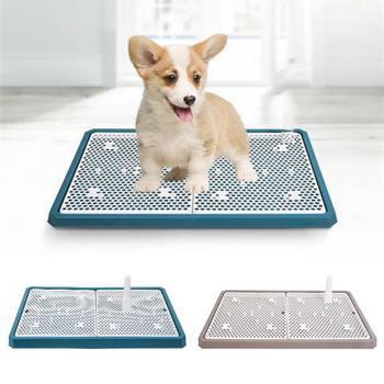 2019NEW ตาข่ายห้องน้ำสุนัขไม่เต็มเต็งห้องน้ำสำหรับสัตว์เลี้ยงสำหรับสุนัข Cat Puppy ถาดการฝึกอบรมห้...