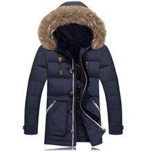 Maxi Winter Jacket Men Coat Mens Jackets And Coats Goose Down Jacket Plus Size Parka Manteau Homme Abrigos Hombres Invierno #039