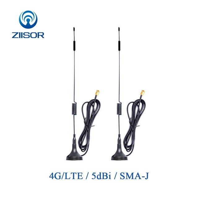 2 stücke 4G Wifi Antenne 3G GSM LTE Magnetische Router Internet Antenne für Kommunikation Sma Omni Antena luft TX4G XPL 300